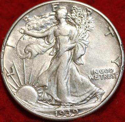 1939 Philadelphia Mint Silver Walking Liberty Half