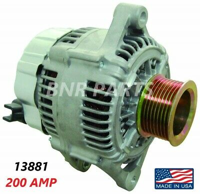 200 AMP 13881 Alternator Dodge Ram Diesel 5.9L High Output HD NEW Performance