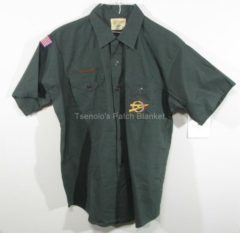 Explorer / Venture Vintage Uniform Shirt Size Adult Medum SS FREE SHIPPING 061