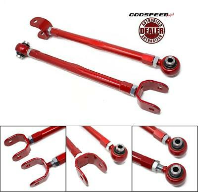 GODSPEED PROJECT ADJ. REAR TOE ARMS FOR 03-07 INFINITI G35 2DR w/ BUCKET DELETE