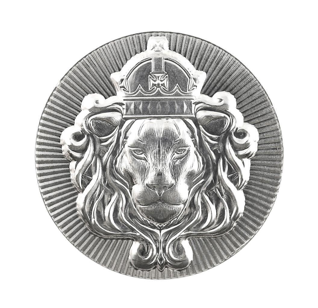 1 x 5 oz .999 Silver STACKER ROUND by Scottsdale Mint - 5 oz .999 Silver #A375