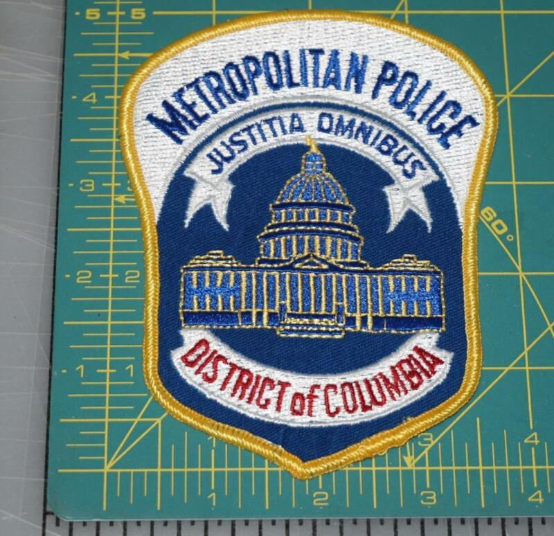 METROPOLITAN DISTRICT OF COLUMBIA POLICE DEPT. PATCH (531)