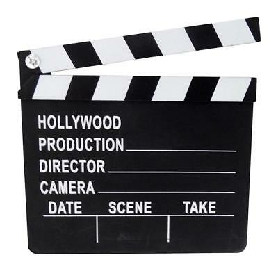 2 Plastic Hollywood Movie Themed Clapboards 8