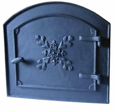 Cast Iron Fire Door Clay Bread Oven Pizza Stove Fireplace (ZW) 54 x 49