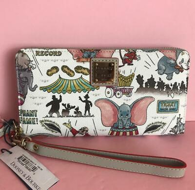 Disney Resort Dooney & Bourke Dumbo Wallet Receive This Pattern NWT