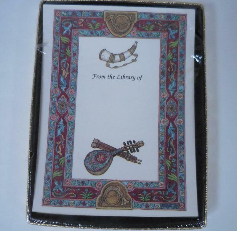 Antioch Bookplates Lot of 24 - Musical Instrument Theme