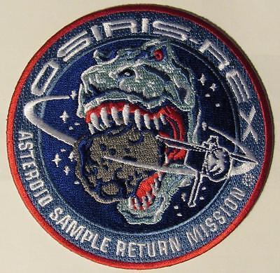 OSIRIS-REX DINO T-REX ATLAS V NASA ASTEROID RETURN SPACE MISSION PATCH Limt 3/wk
