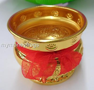 Chinese Oriental Buddhist Flower Altar Incense Stick Burner Bowl Pot Holder #SD
