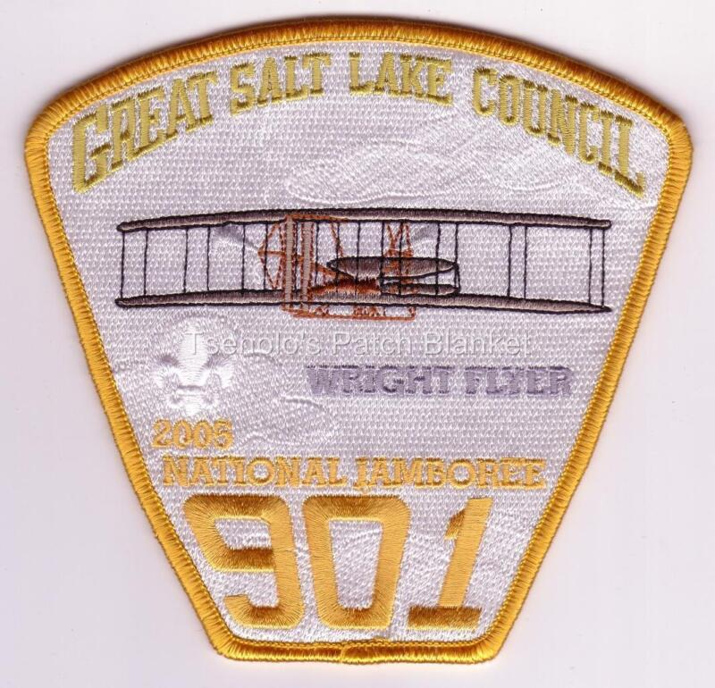 Great Salt Lake Council 2005 National Jamboree JSP Mint Condition FREE SHIPPING