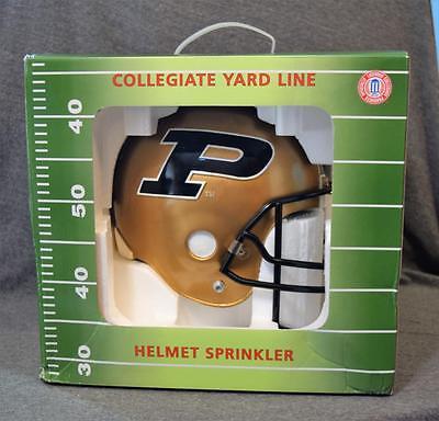Football Yard Lines (Collegiate Yard Line Purdue Boilermakers Football Helmet Yard Sprinkler)