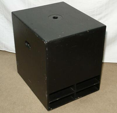 "Turbosound TCX-15B 15"" Compact 2-Way Passive Subwoofer Speaker 1000W"