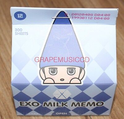 EXO MELODY FAIRY SMTOWN COEX Artium SUM OFFICIAL GOODS DO D.O. MILK PACK MEMO