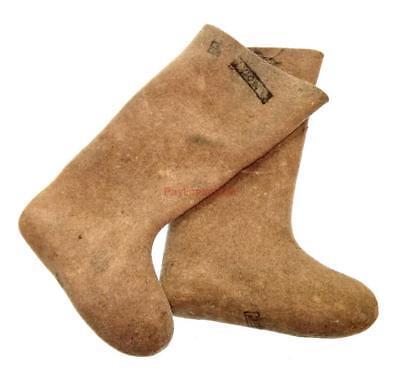 Winter Soldier Boots (Russian Army Valenki Felt Boots 100% Wool Walenki USSR Winter Soldier)