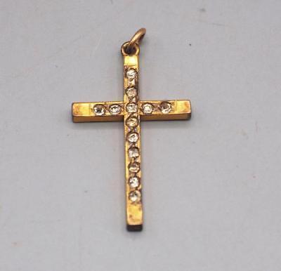 Vintage 12K 1/20 BXO Gold Filled Crucifix Catholic Christian Pendant