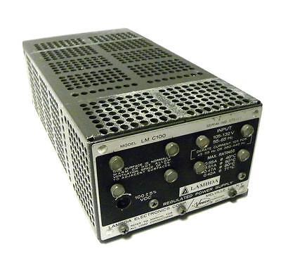 Lambda Lmc100 Regulated Power Supply 100 Vdc 0.55 Amps