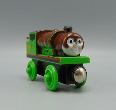 Wooden Railway Thomas & Friends Chocolate Covered Percy No 6 Engine 2001