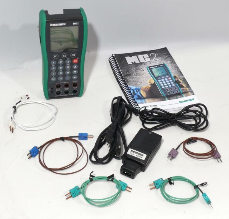 Beamex MC2-TE Practical Hand-Held Documenting Process Calibrator