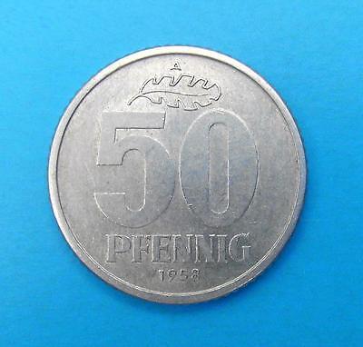 DDR 50 PFENNIG 1958 A