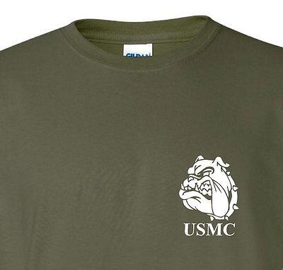 Marine Corps Devil Dog t shirt 4 colors free ship ()