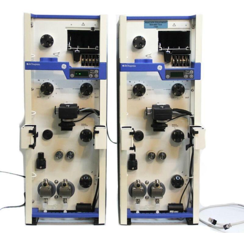 GE Healthcare 11001284 Twin ÄKTAxpress FPLC Chromatography System 7164