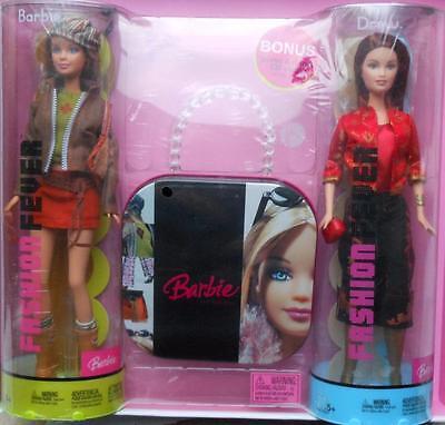 2004 Fashion Fever Barbie & Drew Bonus Pack Gift Set~NIB~NRFB~Rare!