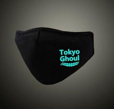 Tokyo Ghoul Mundschutz leuchtet im Dunkeln Anime Manga Cosplay Maske Neu