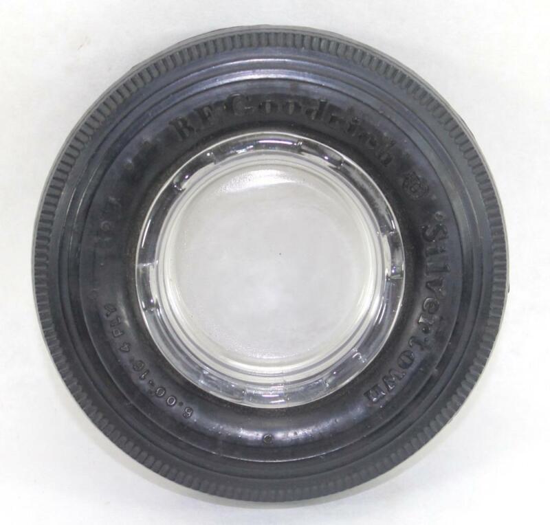 Vintage B.F. Goodrich Silvertown Tire Ashtray