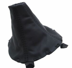 Mazda RX7 Manual Shift Boot Real Leather Black Stitch For 93-02