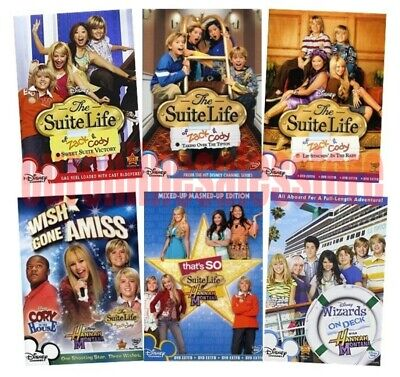 The Suite Life Of Zack & Cody On Deck Collection Bundle DVD Set Episode Disney