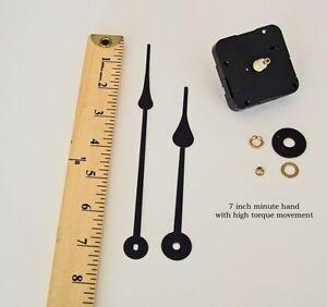 Make-or-Repair-a-Wall-Clock-w-7-Hands-High-Torque-Quartz-Movement-Motor