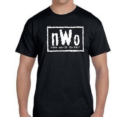 New World Order T-Shirt nWo Logo WCW Professional Wrestling New World Order T-shirt