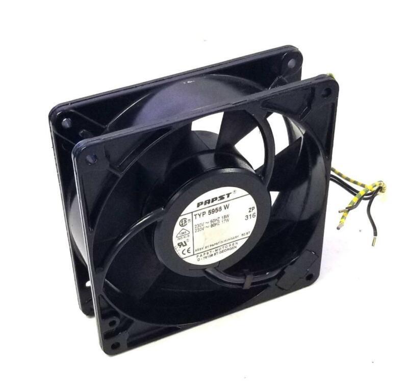 Papst 5958W Cooling Fan 230 V 18 W