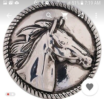 Horse Charm Jewelry - Fits Ginger Snaps horse animal SNAP Interchangeable JEWELRY Button charm 18mm US