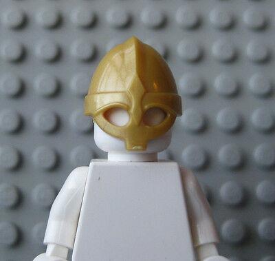 Custom VIKING HELMET for Lego Minifigures Castle Raider Fantasy Project -GOLD-
