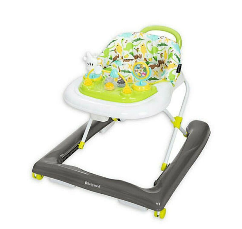 Baby Trend TREND 4.0 ACTIVITY WALKER  (DINO BUDDIES)-MULTICOLOR-BRAND NEW IN BOX
