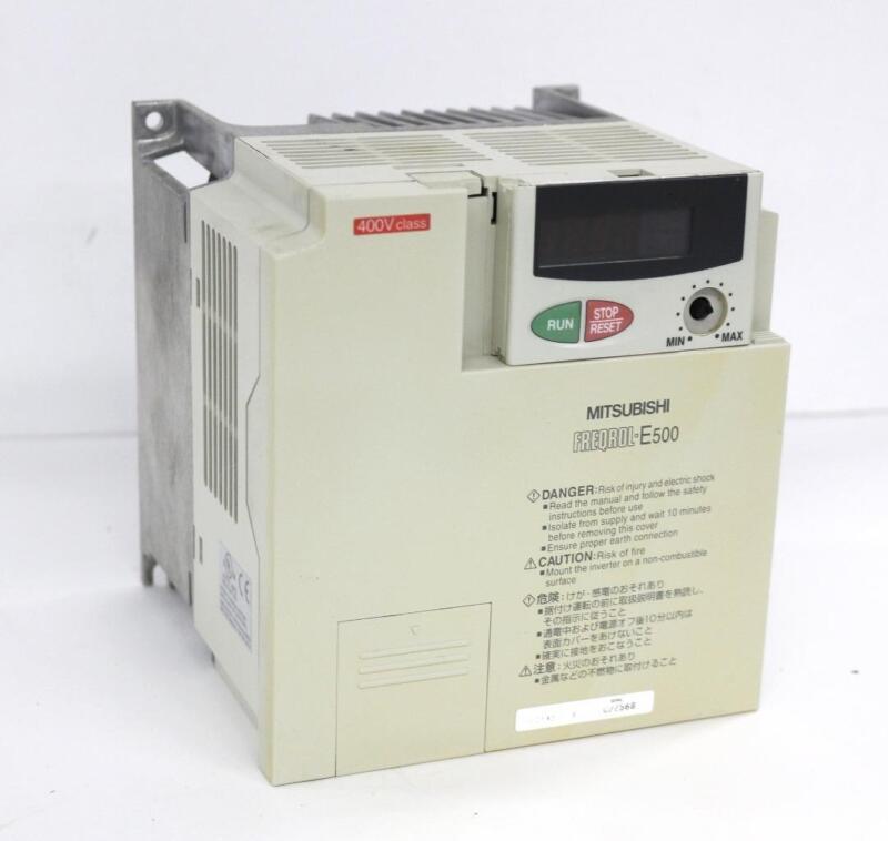 Mitsubishi Freqrol-E500 FR-E540-3.7K Inverter Drive