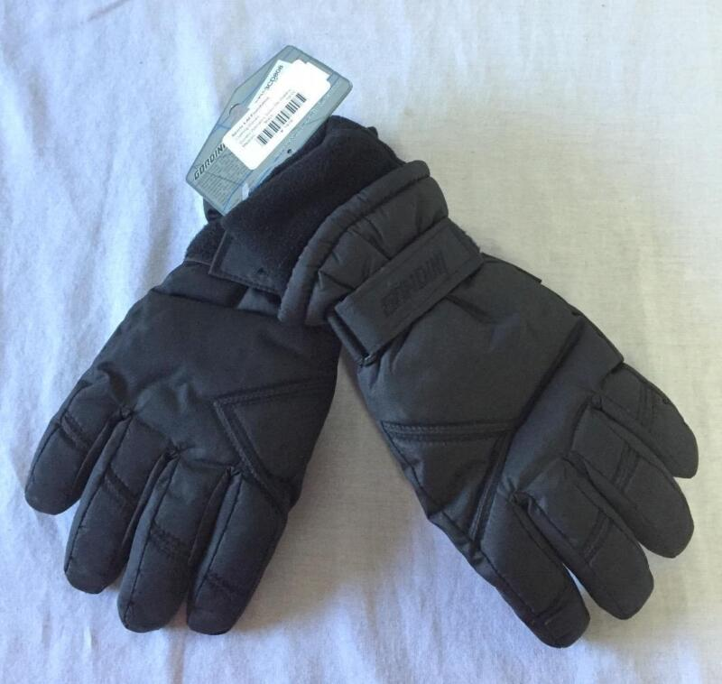 Gordini Women's Snow Ski Waterproof Gloves Size M Black NEW