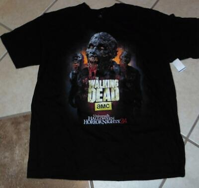 lloween Horror nights 24 Walking dead zombie shirt (Halloween Horror Nights Zombie)