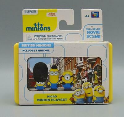 Full Movie Minions (British Minions Micro Minion Playset Full Color Movie Scene)