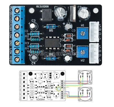 Upgraded Edition Of Ta7318p Vu Meter Driver Pcb Board Stereo Module