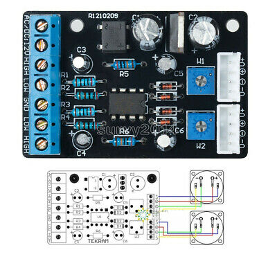 New Upgraded Edition Of Ta7318p Vu Meter Driver Pcb Board Stereo Module