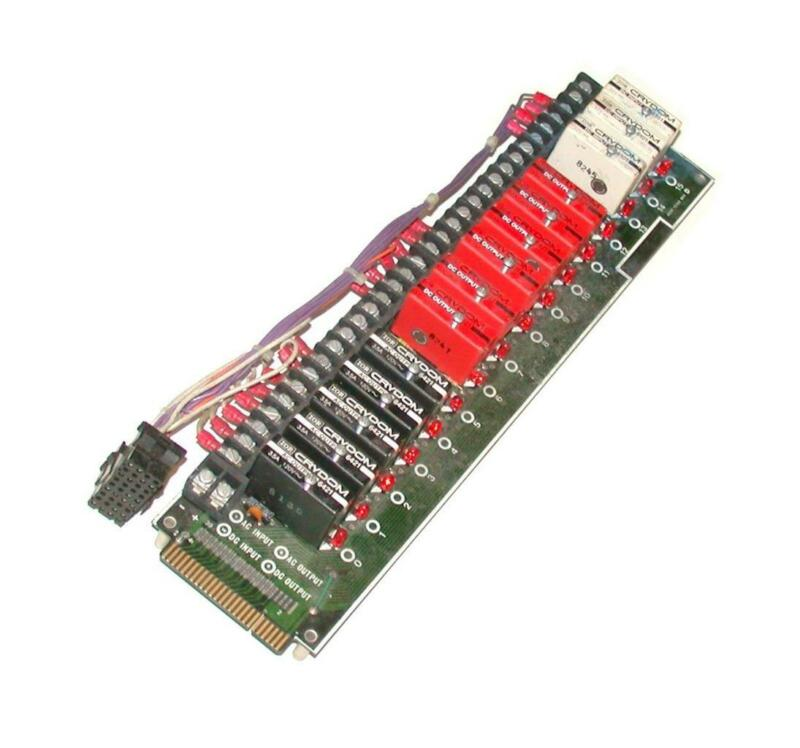 CRYDOM  MS-16H  SOLID STATE RELAY CIRCUIT BOARD W/RELAYS
