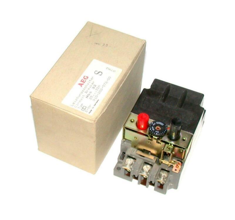 AEG  MBS 32  Manual Motor Overload Circuit Breaker 25-32  AMP 600 VAC