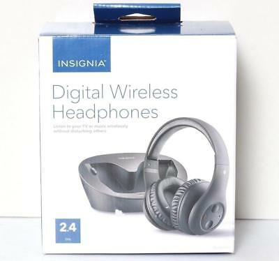 INSIGNIA Digital Wireless Headphones for TV & Audio Devices