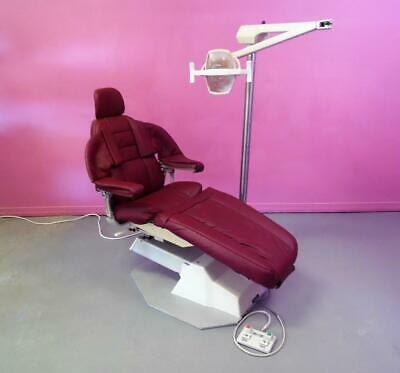 Marcus Patient Exam Dental Chair Dc1550 W Pelton Crane Light Auto Return