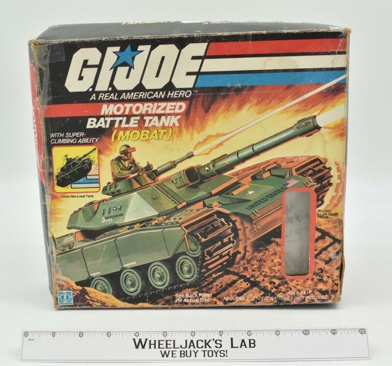 MOBAT Motorized Battle Tank Complete MIB GI Joe 1982 Hasbro Vehicle