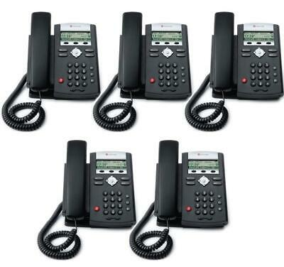 Lot Of 5 Polycom Soundpoint Ip 321 2201-12360-001 Handset Stand Free Ship