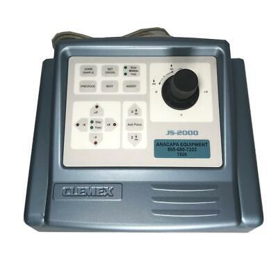 Clemex Js-2000 Microscope Motorized Stage Controller And Interface Used 7826 R