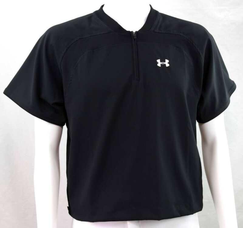 Under Armour Baseball Short Sleeve Batting Cage Jacket UA Logo, Youth Small New