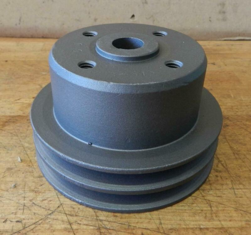 "Clark Forklift Continental engine used water pump pulley Y400K3612 4-1/8"" dia"